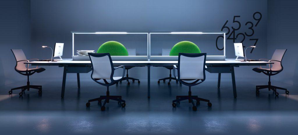 La scrivania per ufficio diventa intelligente
