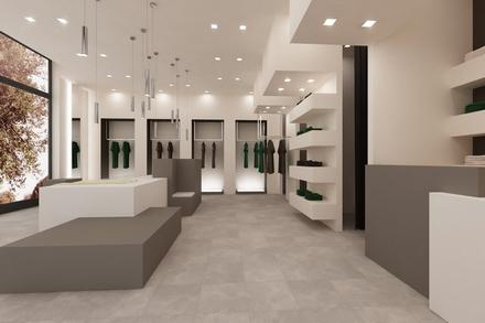come arredare il proprio negozio pure luxury living